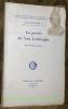 La poésie de Van Lerberghe. Essai d'exégèse intégrale.Académie Royale de Langue et de Littérature Française.. GUILLAUME, Jean.