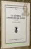 """Le Général Antoine-Henri Jomini. 1779 - 1869. Contribution à sa biographie.Coll. : """"Bibliothèque historique vaudoise"""", vol. XLI.."""