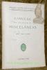 Catalogo da colecçao de miscelaneas. Vols. LXXVI a CLXXV.Publicaçoes da Biblioteca Geral da Universidad..