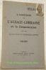 L'annexion de l'Alsace-Lorraine et la désannexion. Avec une allocution du Maréchal Joffre..