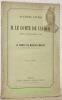 Deuxième lettre à M. le Comte de Cavour, Président du Conseil des Ministres à Turin.Seconde édition.. COMTE de MONTALEMBERT.