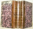 Miroir militaire ou Notices sur les plus célèbres guerriers anciens et modernes à l'usage des Ecoles de l'Académie Royale Militaire. 3 volumes..