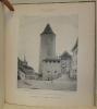 Fribourg artistique à travers les Ages. Publication des Sociétés des Amis des Beaux-Arts & des Ing. & Arch. 1890-1914. Collection complète en reliée ...