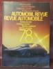 Automobil revue. Revue automobile. 1978..