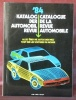 Automobil revue. Revue automobile. 1984..