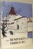 Les remparts de Fribourg au moyen âge. Préface de Gonzague de Reynold.Publié sous les auspices de la fondation Pro Fribourg.. GENOUD, Augustin