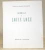 Hommage à Louis Loze.Cahiers de l'Institut Neuchâtelois..