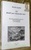 Uri Modell einer traditionellen Welt ? Eine ethno-geschichtliche Studie über die Urner Mentalität 17.-20. Jahrhundert.. ZURFLUH, Anselm.