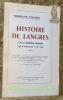 Histoire de Langres et de ses institutions municipales jusqu'au commencement du XVIe siècle.. CLAUDON, Ferdinand.