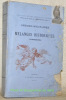 Ordres militaires et Mélanges historiques (Strasbourg).Nouvelles oeuvres inédites tome 5.. GRANDIDIER, Abbé.