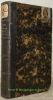 Chimie appliquée à la physiologie végétale et à l'agriculture. Traduction sur les manuscrits de l'auteur par Charles Gerhardt. Deuxième édition ...