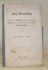 Kurze Beleuchtung eines von der faklichen Regierung des Herzogthums Holstein unter dem 20sten April 1850 erlassenen Memorandums. Mit dem Memorandum ...