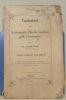 Taschenbuch für Mathematik, Physik, Geodäsie und Astronomie. (S.A. der ersten Hälfte.) Vierte, umgearbeitete und erweiterte, mit vierundzwanzig ...