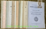 Université de Liège. Ouverture solennelle des cours. Année 1898/1899 à 1910/1911 (manque 1899/1900). 12 Brochures. . Masius. - Dwelshauvers-dery, V. - ...