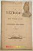 Le métissage des races bovines de la Suisse et l'introduction d'une race de boucherie.. BOREL, C.