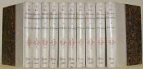 Le Nouveau Décaméron. 10 Volumes. I - Le temps d'aimer. II - Dans l'atelier. III - Les amours mondaines. IV - Comme il vous plaira. V - Le rue et la ...