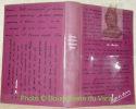 M. Ouine. Première édition intégrale conforme au manuscrit et comportant de nombreuses pages inédites. Texte établi par Albert Béguin.. BERNANOS, ...