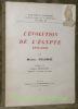 """L'évolution de l'Egypte. 1924 - 1950. Préface de Robert Montagne.Coll. : """"Islam d'hier et d'aujourd'hui"""", vol. IX.. COLOMBE, Marcel."""