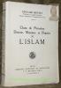 Choix de proverbes, dictons, maximes et pensées de l'Islam.. MONTET, Edouard.