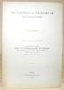 Über Teilbildungen aus dem Froschei und ihre Postgeneration. Mit 8 Fig.  im Text und 3 Tafeln.S.A. aus dem Archiv für Entwicklungsmechanik der ...