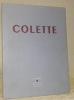 Colette. Le Point. Revue artistique et littéraire XXXIX.. (COLETTE).