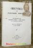 Oeuvres. Tome 1: Sub Tegmine Fagi. Premiers poèmes. Vers inédits. La Vallée du Rhône. Suivies des Reliquiae de Raoul Monier.. BERNARD, Jean-Marc.