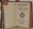 Ordonnance du Roi, Portant Règlement sur le service de l'Infanterie en Campagne. Du 17 Février 1753..