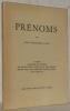 Prénoms. 27 poèmes accompagnés de 9 portraits par M. Barraud, A. Chavaz, R.Guinand, Ed.Manet, H.Schoellhorn, B.Vautier, O.Vautier.. LAYA, ...