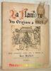 La Flandre des origines à 1815.. BECKERS, Léon.