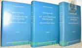 Bibliographie de la littérature française du dix-huitième siècle. 3 Volumes complets.. CIORANESCU, Alexandre.