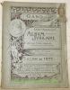 SALON DE GAND 1892. Salle du Casino. Album Jubilaire dédié à MM. les Artistes Exposants..