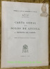 Carta geral dos solos de Angola. 4. Distrito de Cabinda. Memorias da Junta de Inverstigaçoes do Ultramar n° 57..