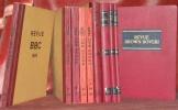 REVUE BBC. Publié par la Société Annonyme Brown, Boveri & Cie Baden (Suisse). Douzième année 1925 à 1934 vingt et unième année. 10 Volumes..