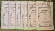 Kriegsgeschichtliche Beispiele aus dem deutsch-französischen Kriege von 1870/71.Heft 1-2-3-4-5-6-8.. KUNZ, Major.