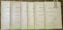 Mémoires de la Société Royal des Antiquaires du Nord. Nouvelle série. 1884-1885-1886-1887-1888-1889..