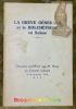 La grève générale et le bolchévisme en Suisse. Discours prononcé par M. Musy au Conseil national le 10 décembre 1918.. MUSY, J.-M.
