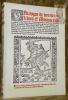 Catalogue de Très Beaux Livres. Manuscrits à Miniatures - Incunables - Livres du XVIe siècle - Très belles Reliures. Catalogue N° 9.. RAUCH, Nicolas.