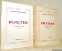 Révoltes ! Illustrations de P. Leclerc. 2 Volumes.Tome 1: L'Enfer.Tome 2: Frénésies.. TOETENEL, Albert.