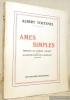 Ames simples. Préface de Marcel Chabot. Illustrations de R. Barbaix.. TOETENEL, Albert.