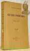 Oeuvres Posthumes.Textes traduits avec introduction et notes par Henri Jean Bolle. Quatrième édition.. NIETZSCHE, Frédéric.