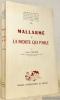 """Mallarmé et La morte qui parle.""""Université de Grenoble. Publications de la Faculté des Lettres et des Sciences humaines, n°20."""". CELLIER, Léon."""