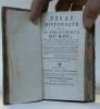 Essai historique sur la Bibliothèque du Roi, et sur chacun des dépôts qui la composent, avec la description des bâtimens & des objets les plus curieux ...
