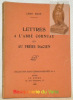 Lettres à l'Abbé Cornuau et au Frère Dacien. Coll. Saint-Germain-des-Prés, n°4.. BLOY, Léon.