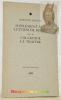 Supplément aux Lettres de Rodez suivi de Coleridge le Traître.Portrait par Krol. . ARTAUD, Antonin.