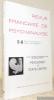 REVUE Française de Psychanalyse N°5-6. Revue Bimestrielle : Tome XLII - Sept.-Décembre 1978. XXXVIIIe Congrès des Psychanalystes de Langues Romanes : ...