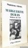 Marguerite Duras : Médium du réel.. ALLEINS, Madeleine.