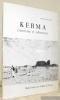 Kerma territoire et métropole. Quatre leçons au Collège de France.. BONNET, Charles.
