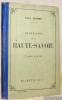 Géographie du département de la Nièvre. Avec une carte coloriée et 15 gravures. Neuvième édition.. JOANNE, Adolphe.