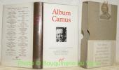 Album Camus. Iconographie choisie et commentée par Roger Grenier. 490 illustrations. Bibliothèque de la Pléiade.. GRENIER, Roger. - CAMUS.