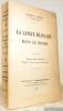 La langue française dans le monde. Préface d'Albert Dauzat.. SCHOELL, Franck L.